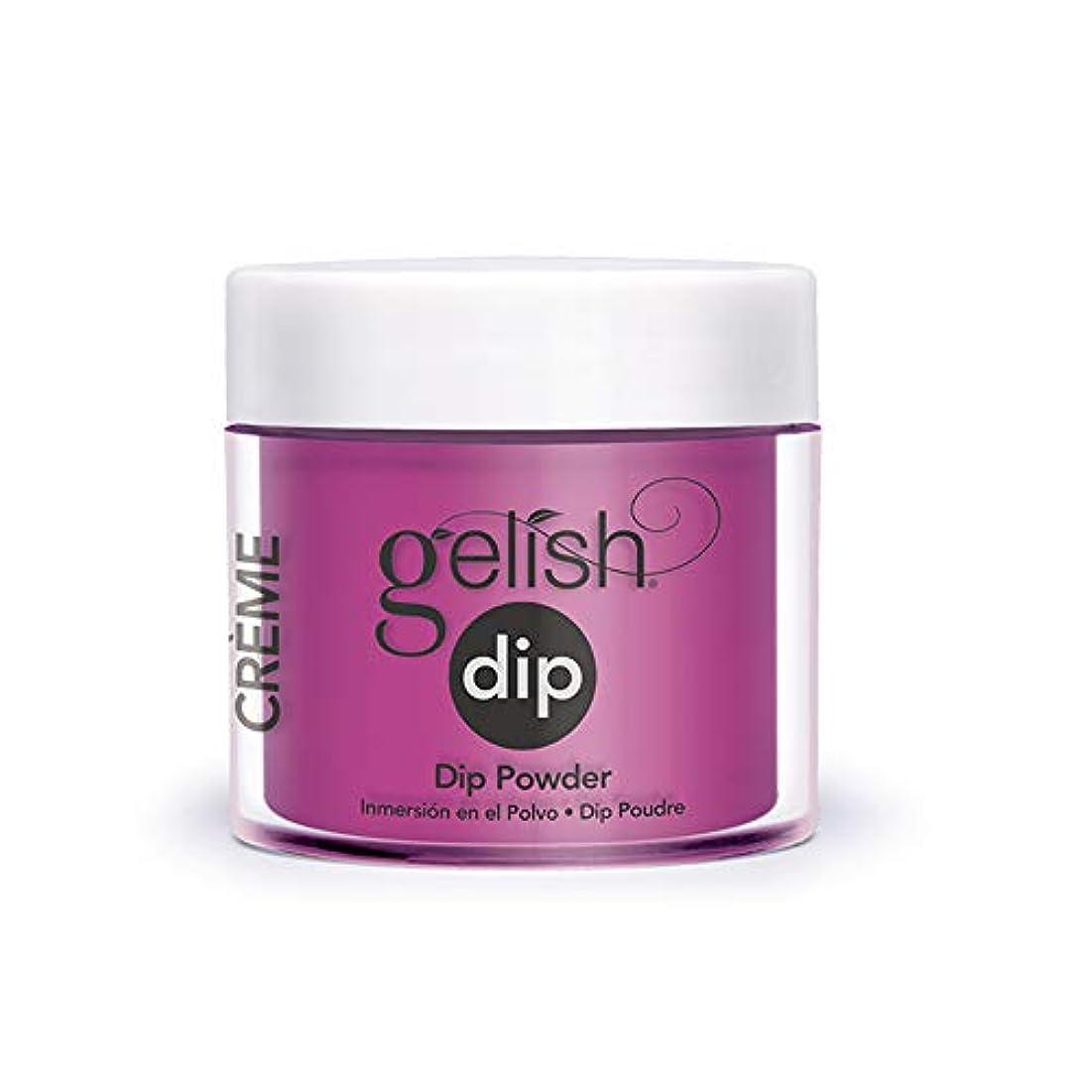 のために上に層Harmony Gelish - Acrylic Dip Powder - Tahiti Hottie - 23g / 0.8oz
