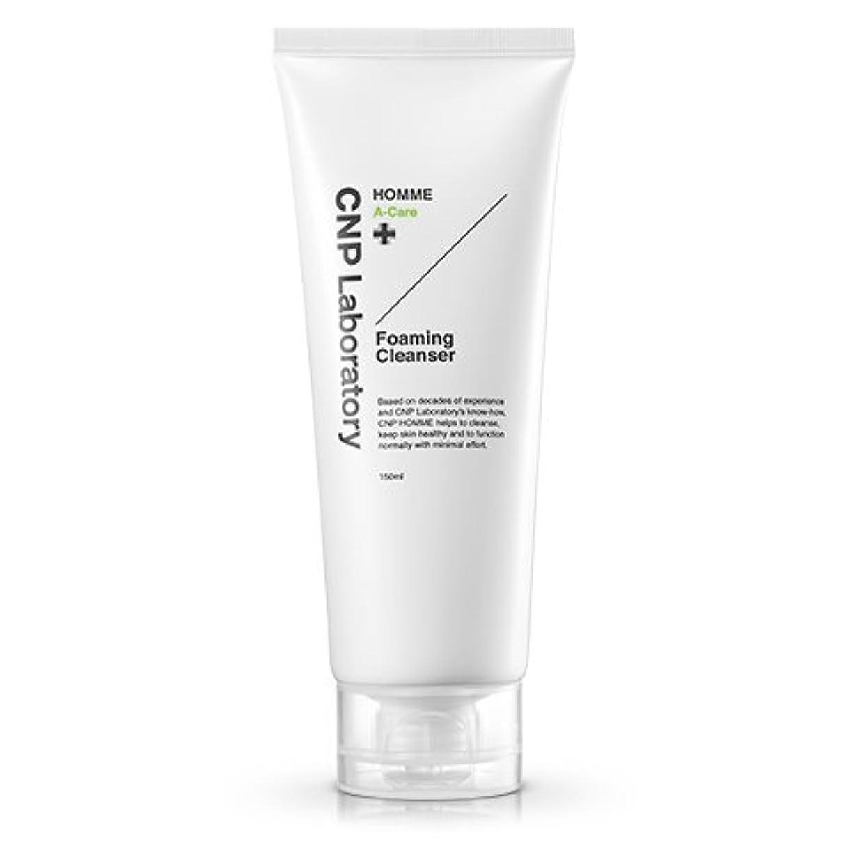 販売員磁石カナダCNP Laboratory オムAケアフォーミングクレンザー/Homme A-Care Foaming Cleanser 150ml [並行輸入品]