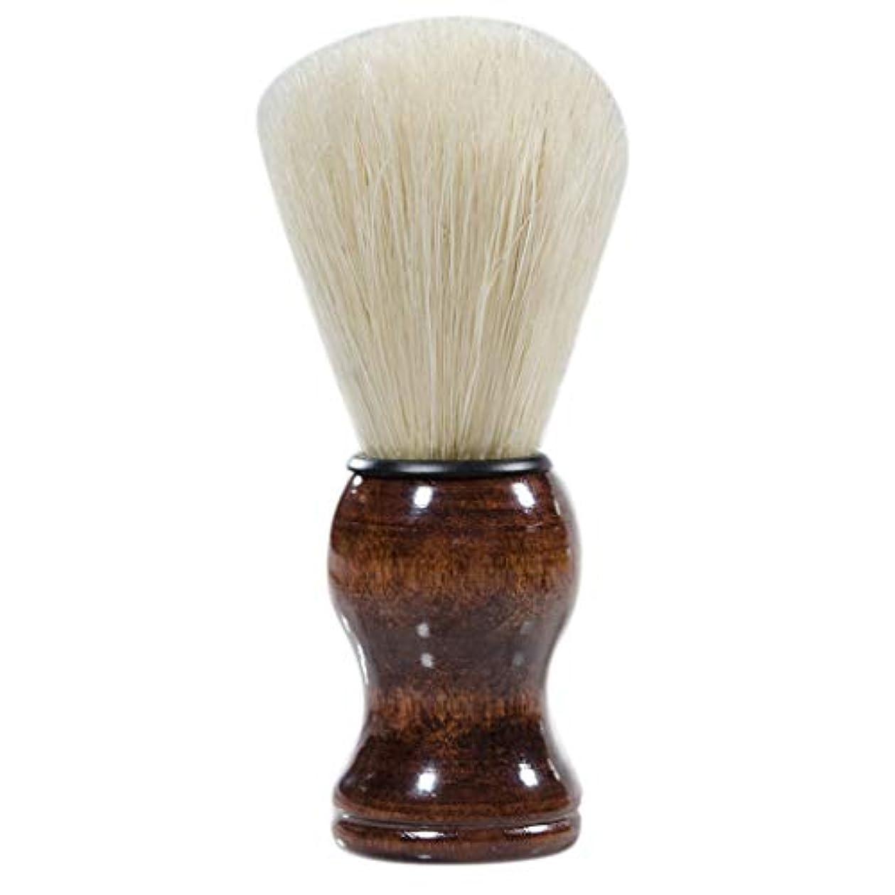 矩形細心の電圧sharprepublic シェービングブラシ 毛髭ブラシ 髭剃りブラシ ひげブラシ 理容ブラシ ひげ剃り 美容ツール