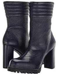Stuart Weitzman(スチュアートワイツマン) レディース 女性用 シューズ 靴 ブーツ ミッドカフ Isobel - Midnight Gleaming Tripon [並行輸入品]