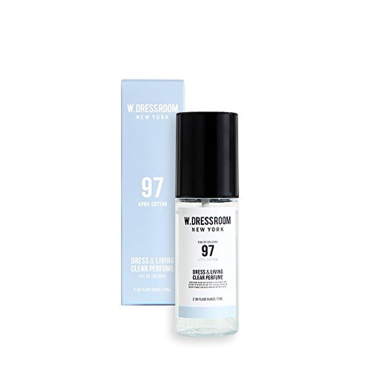 鋸歯状フォーマルクールW.DRESSROOM Dress & Living Clear Perfume 70ml/ダブルドレスルーム ドレス&リビング クリア パフューム 70ml (#No.97 April Cotton) [並行輸入品]