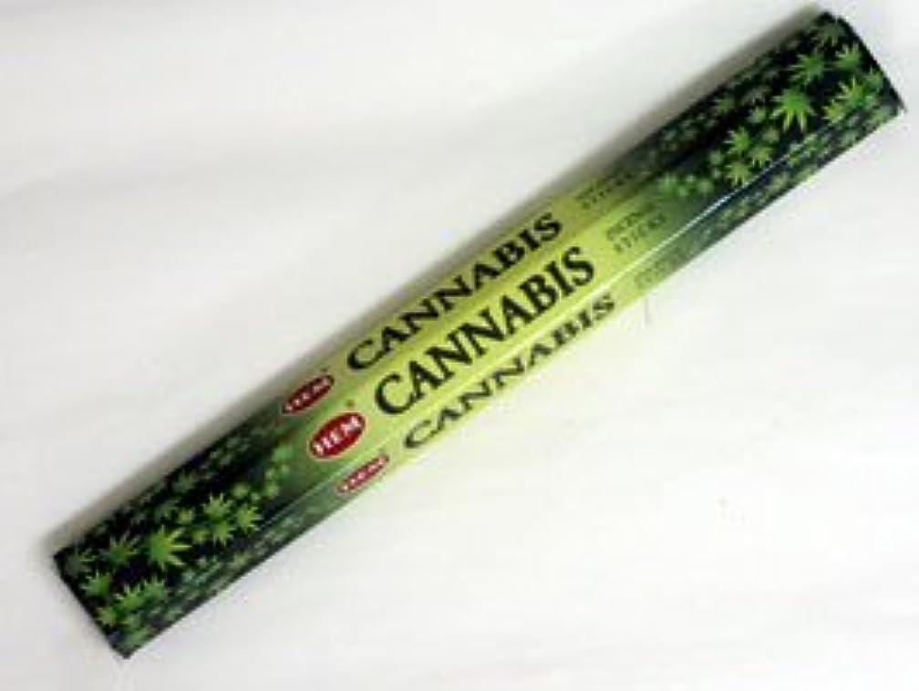植物の増幅器機知に富んだHEM 六角お香 6個入り カナビス