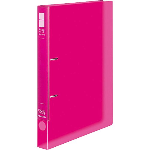 コクヨ リングファイル スリムスタイルPPシート表紙 A4 220枚 ピンク フ-URFC430P