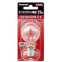 【まとめ 5セット】 PANASONIC ミニクリプトン電球25W形クリア LDS100V22WCK