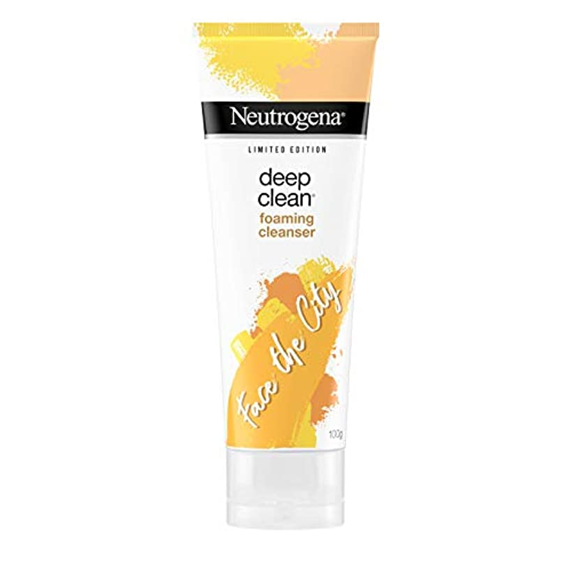 葉を集める寄り添う衣服Neutrogena Deep Clean Foaming Cleanser, 100g