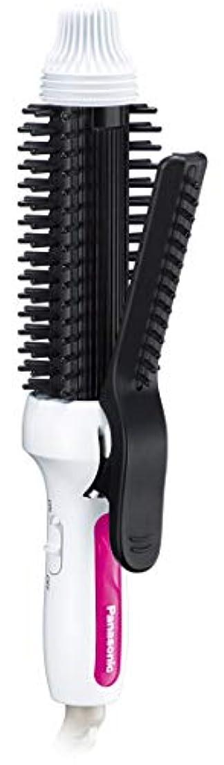 紳士スロープロールパナソニック ブラシアイロン コンパクト カール用 海外対応 26mm 白 EH-HT48-W