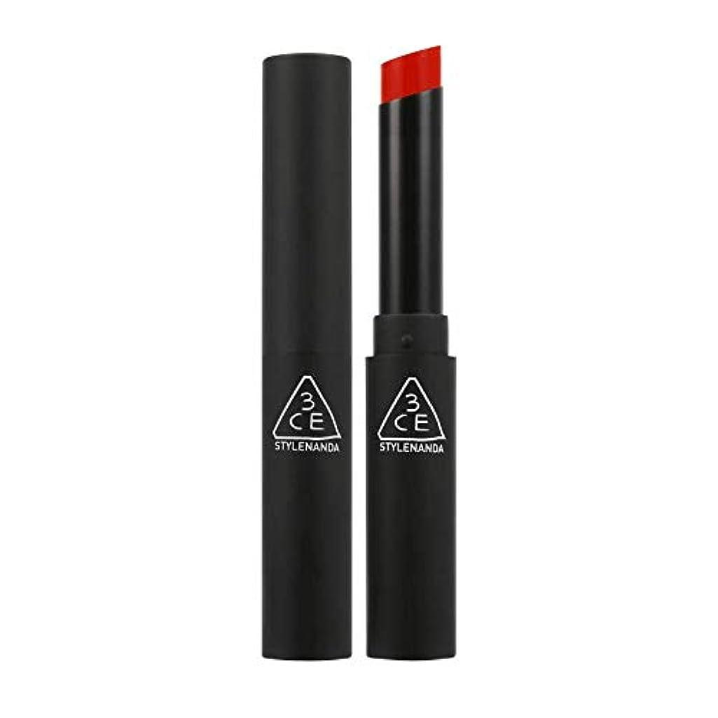 縫う弁護士ゆるい3CEスリムベルベットリップカラー Slim Velvet Lip Color (# VERMILION) [並行輸入品]