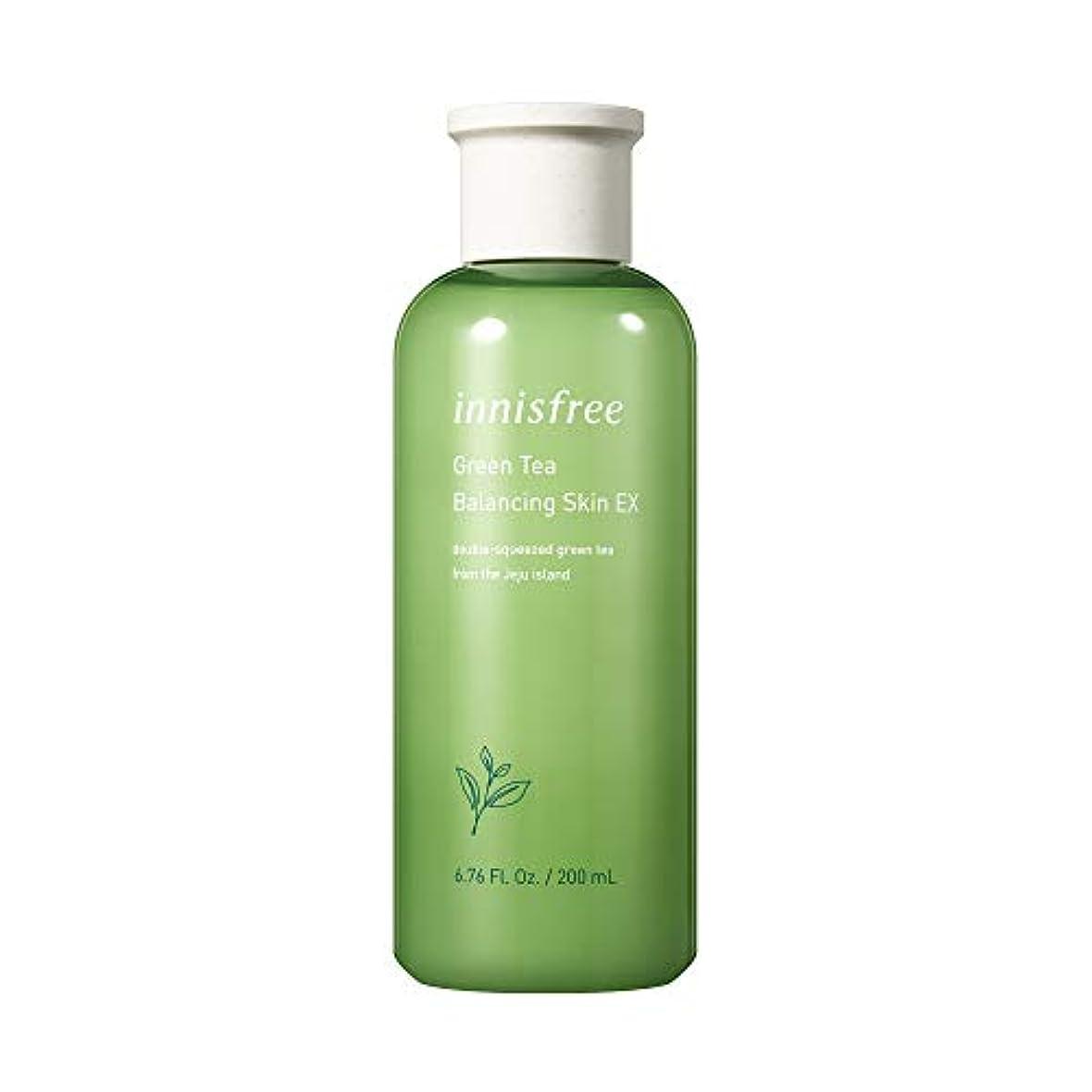 強調平和的にやにやイニスフリー日本公式(innisfree)グリーンティー バランシングスキン[化粧水]200mL