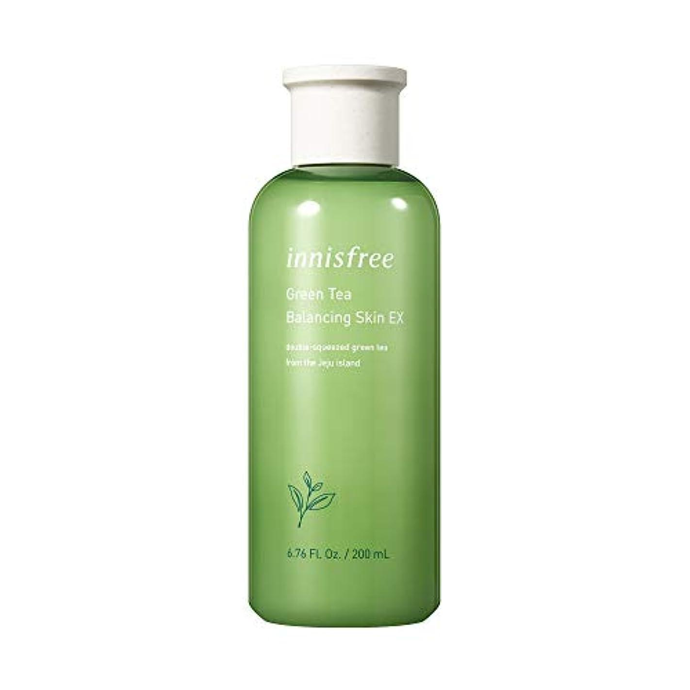 完璧合意トレイイニスフリー日本公式(innisfree)グリーンティー バランシングスキン[化粧水]200mL