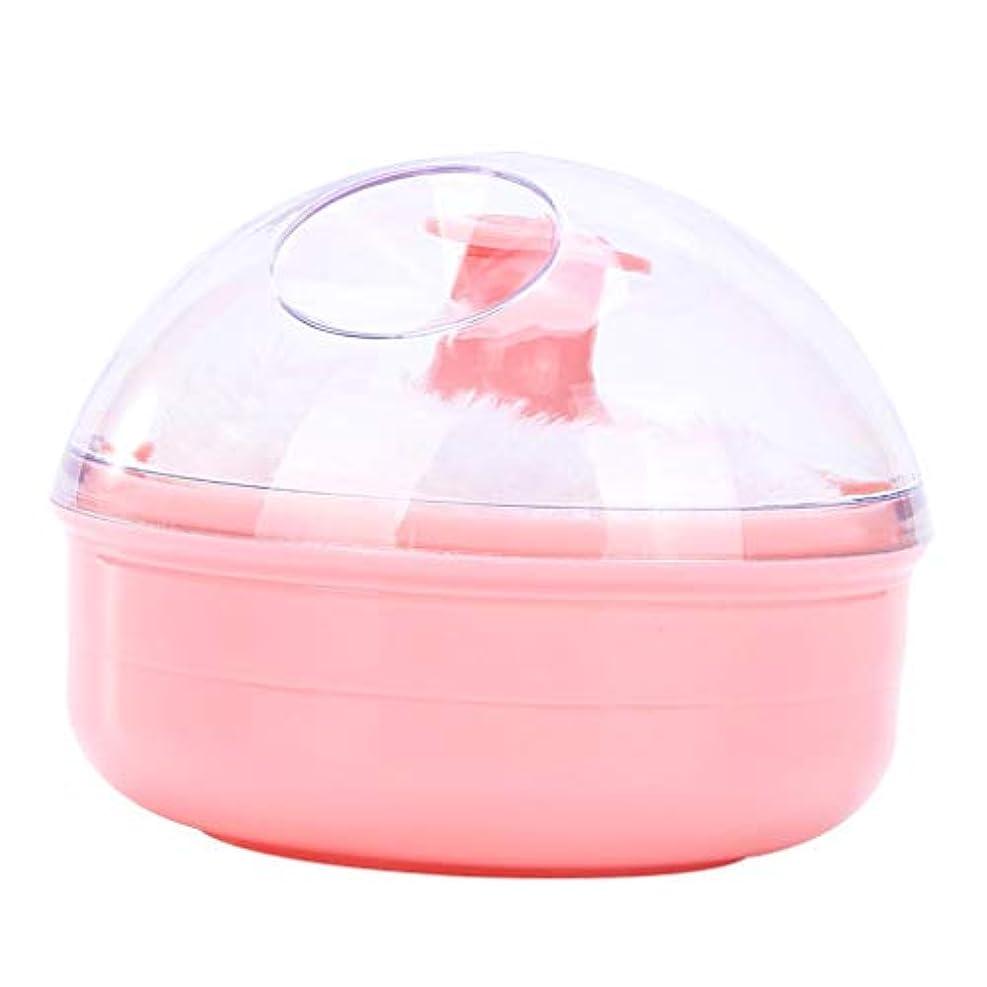 食欲影のある足CUTICATE ベビーパフ パウダーケース ふんわりパフ 新生児用品 ベビー スキンケア ボディケア ソフト