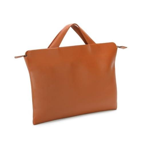 [トライオン] TRION ブリーフケース AA115 A4 バッグ 本革鞄 ビジネス (ダークタン)