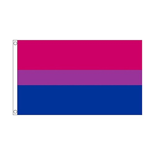 国旗 両性愛 バイセクシュアリティ LGBT 90cmx150cm 特大フラッグ【ノーブランド品】