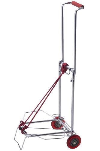 EMINENT 新サイレントキャリーカート 耐荷重25kgタイプ レッド 75-58752
