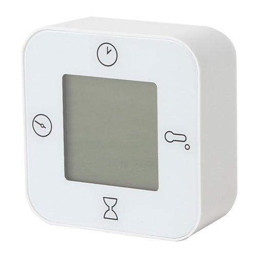 IKEA LOTTORP 80243453 時計 温度計 アラーム タイマー...