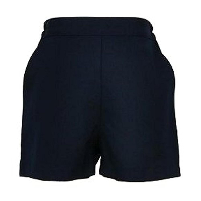 ハッピークローバー 【紺色無地】後ろゴム半ズボン 90cm~130cm shortpants3