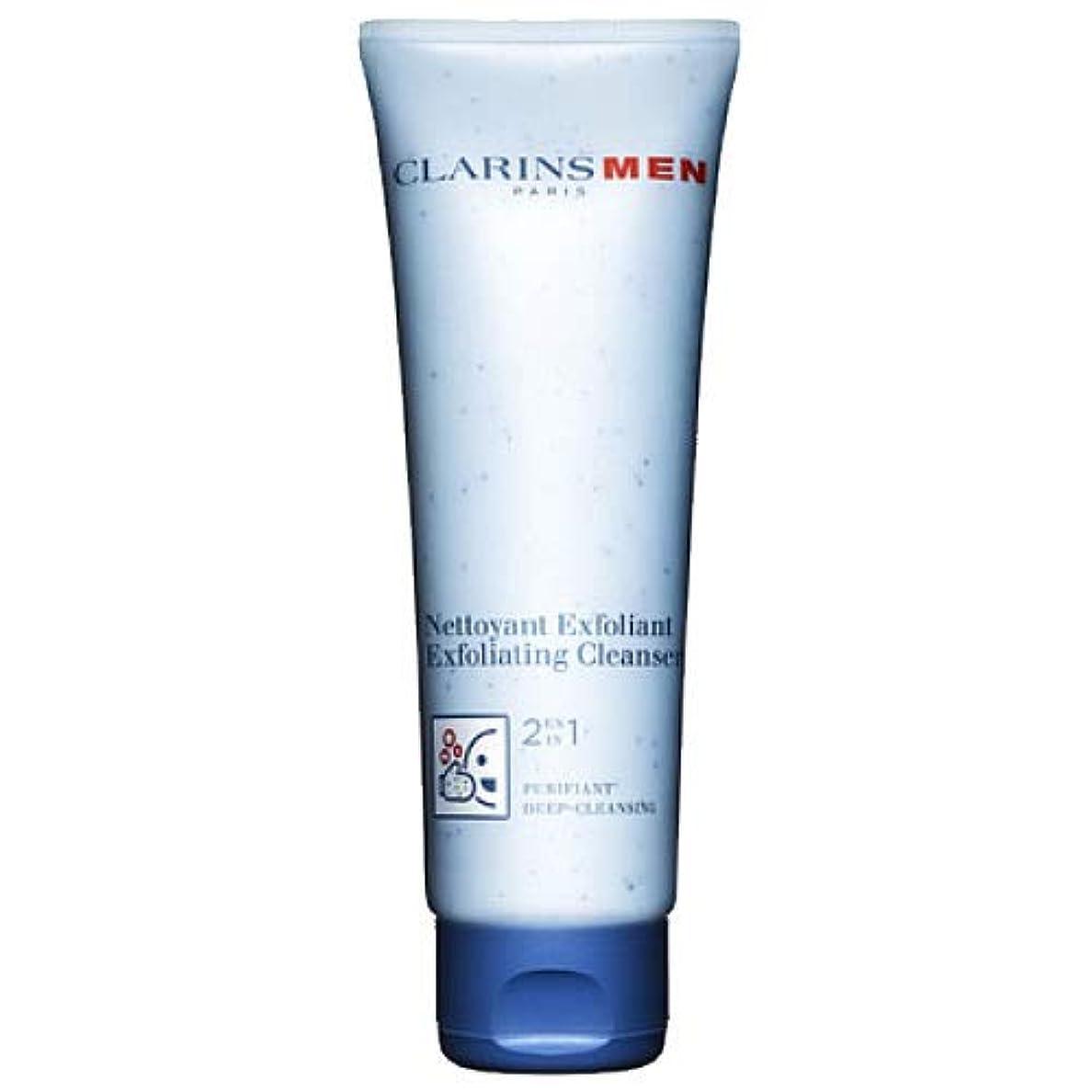 あからさま評論家液化するクラランス CLARINS クラランス メン エクスフォリエイティング クレンザー 125ml [並行輸入品]