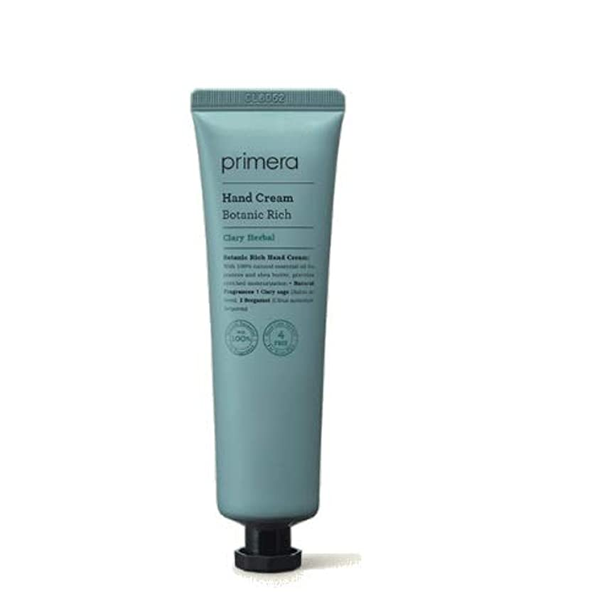 不満性差別セミナーPrimera Botanic Rich Hand Cream 60ml