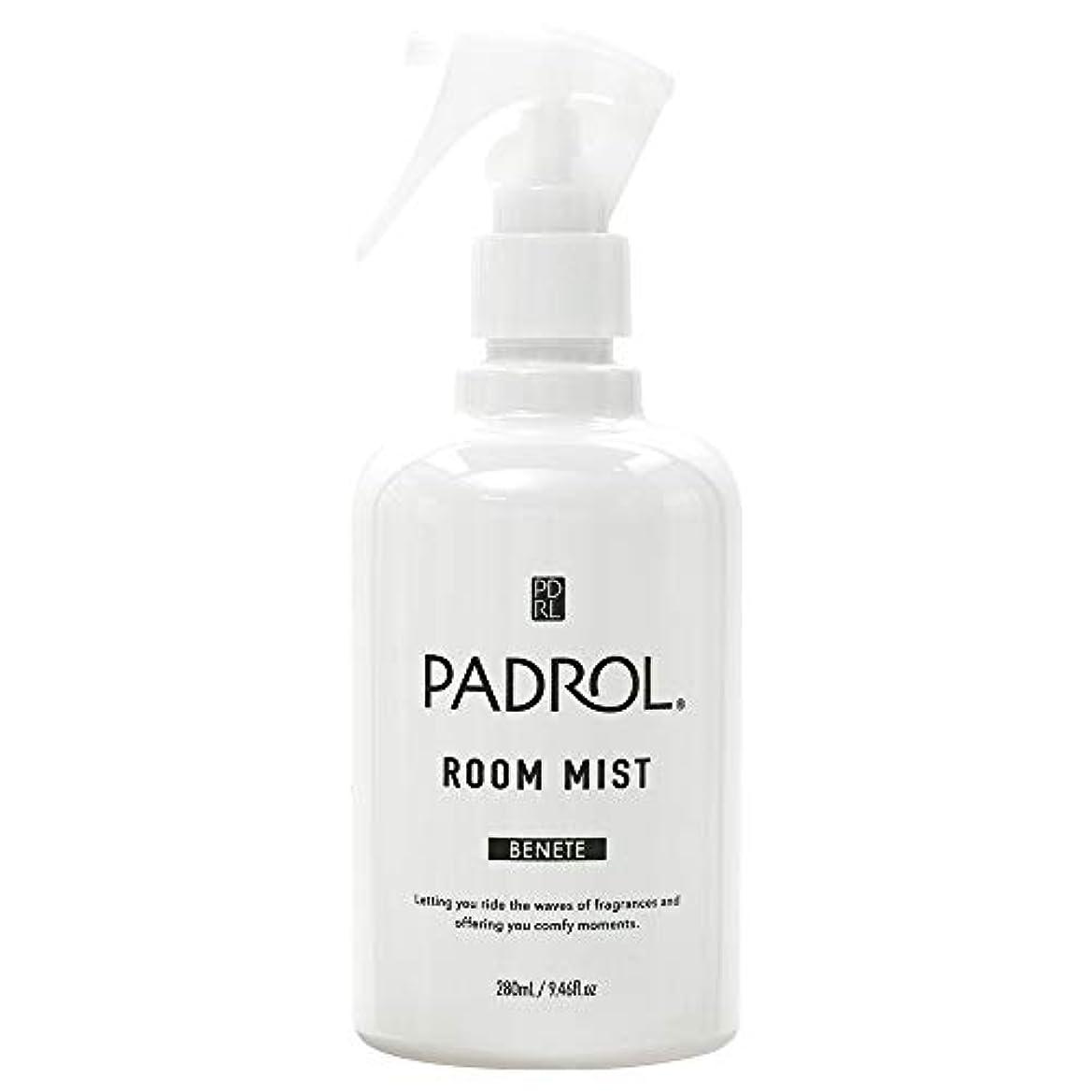 花束バーインストラクターノルコーポレーション ルーム&ファブリックミスト パドロール PAB-2-01 ホワイトムスクの香り 280ml