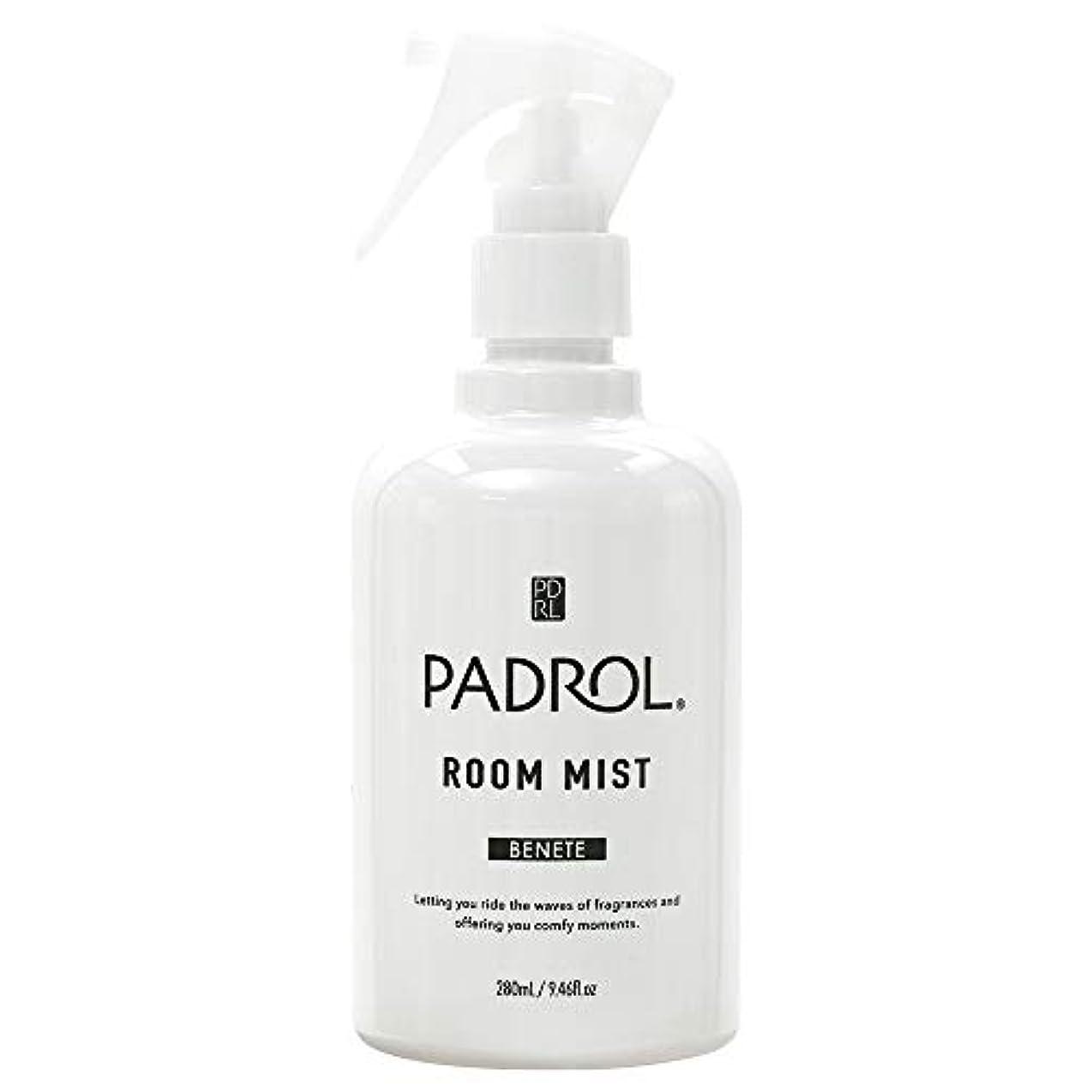 スロー住む可動式ノルコーポレーション ルーム&ファブリックミスト パドロール PAB-2-01 ホワイトムスクの香り 280ml
