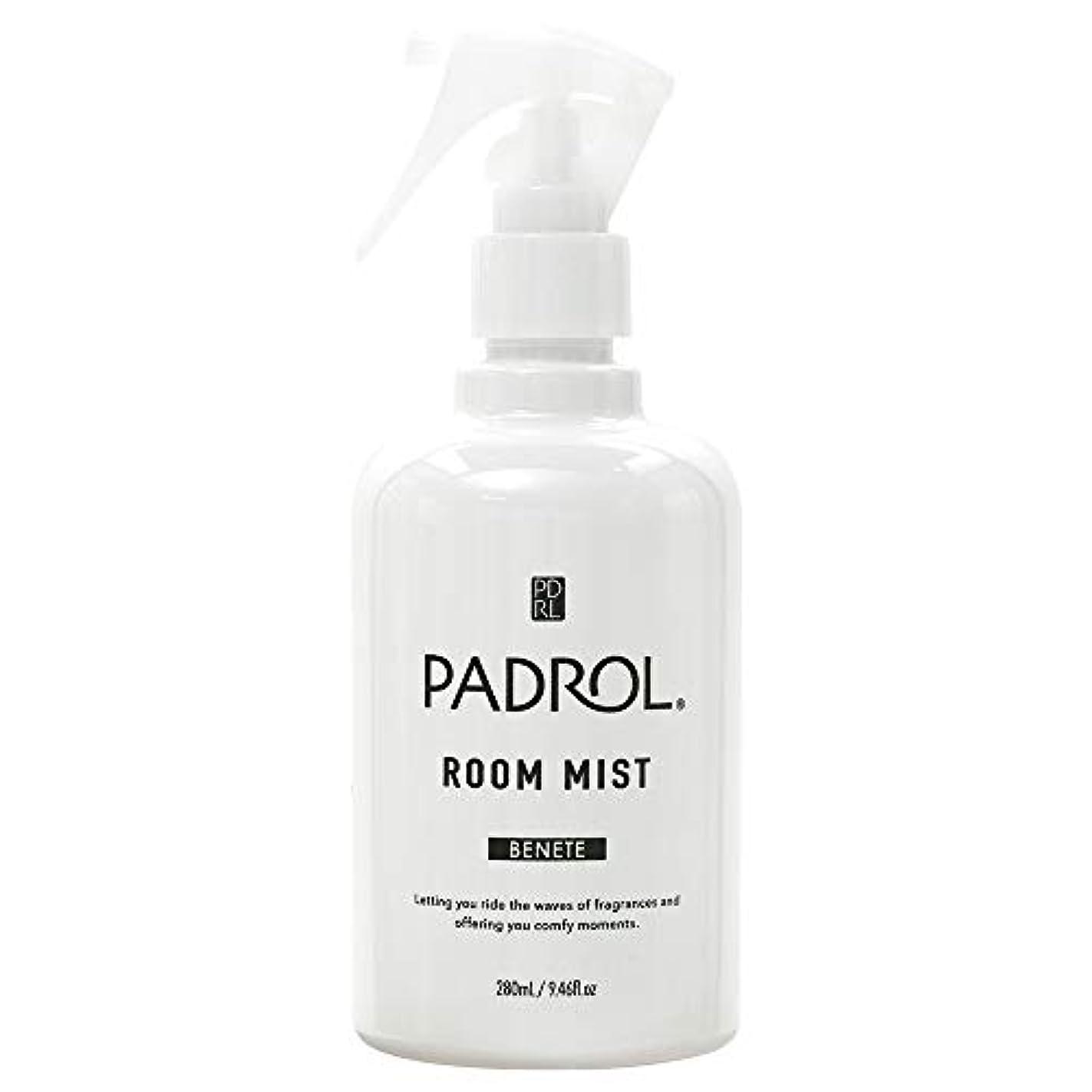 消毒する月精神医学ノルコーポレーション ルーム&ファブリックミスト パドロール PAB-2-01 ホワイトムスクの香り 280ml