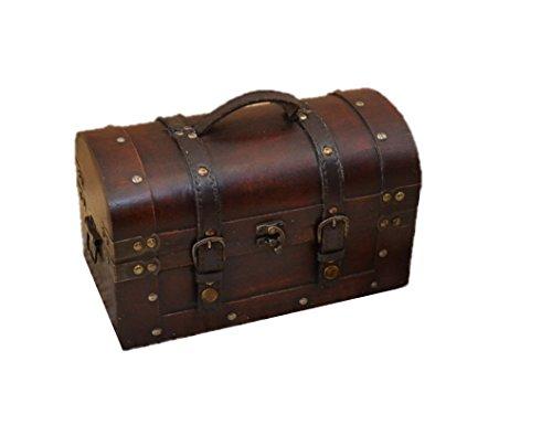 RoomClip商品情報 - 人気 アンティーク風 レトロなトランク-かばん型S おもちゃ箱や収納ボックスでお洒落なインテリア 海賊宝箱