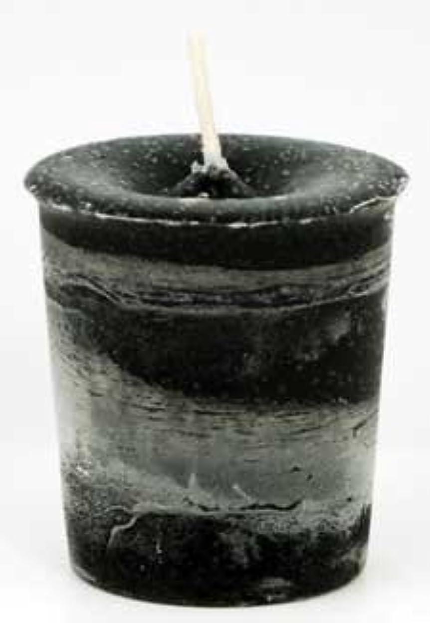 性的安価なシステムAzureGreen CVHPRT Protection Herbal Votive Candle in Black