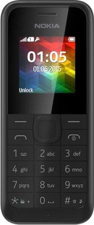 Nokia 105 (2015) 改良版 SIMフリー 格安海外携帯電話 並...