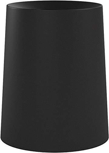 イデアコ ゴミ箱 チューブラー オム ブラック 11.4L