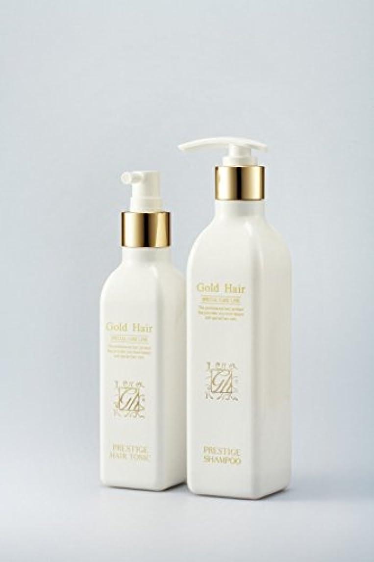 ソース推論危険にさらされているゴールドヘア育毛シャンプー&トニック 漢方シャンプー /Herbal Hair Loss Fast Regrowth Gold Hair Loss Shampoox1ea & Gold Hair Oriental Herbal...