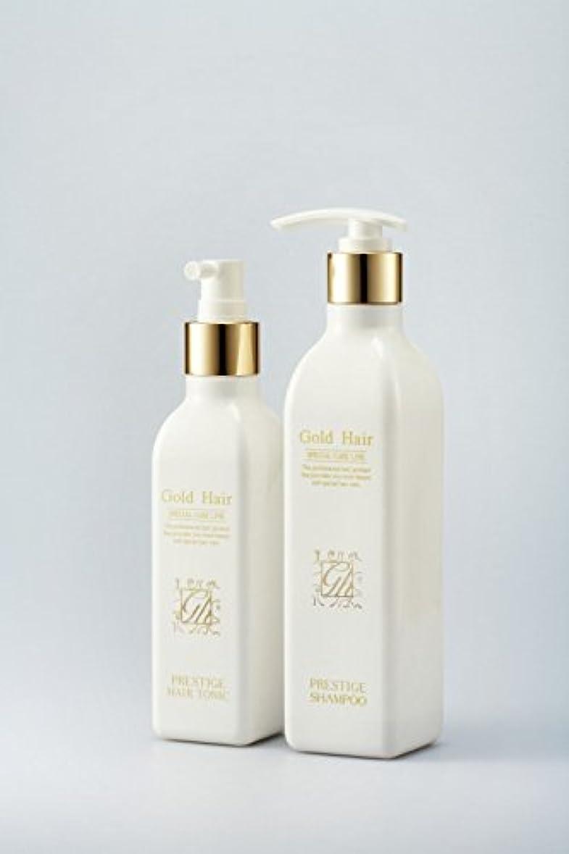 四引退した空のゴールドヘア育毛シャンプー&トニック 漢方シャンプー /Herbal Hair Loss Fast Regrowth Gold Hair Loss Shampoox1ea & Gold Hair Oriental Herbal...