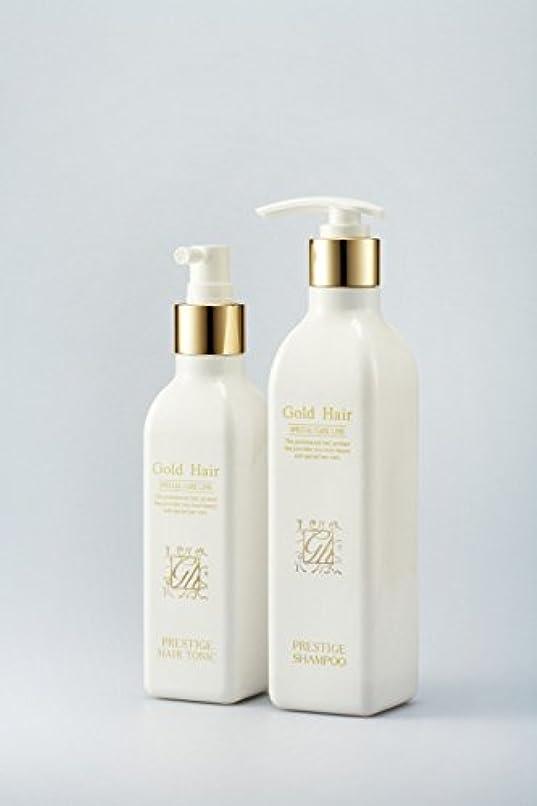 単調なスキルバイナリゴールドヘア育毛シャンプー&トニック 漢方シャンプー /Herbal Hair Loss Fast Regrowth Gold Hair Loss Shampoox1ea & Gold Hair Oriental Herbal...