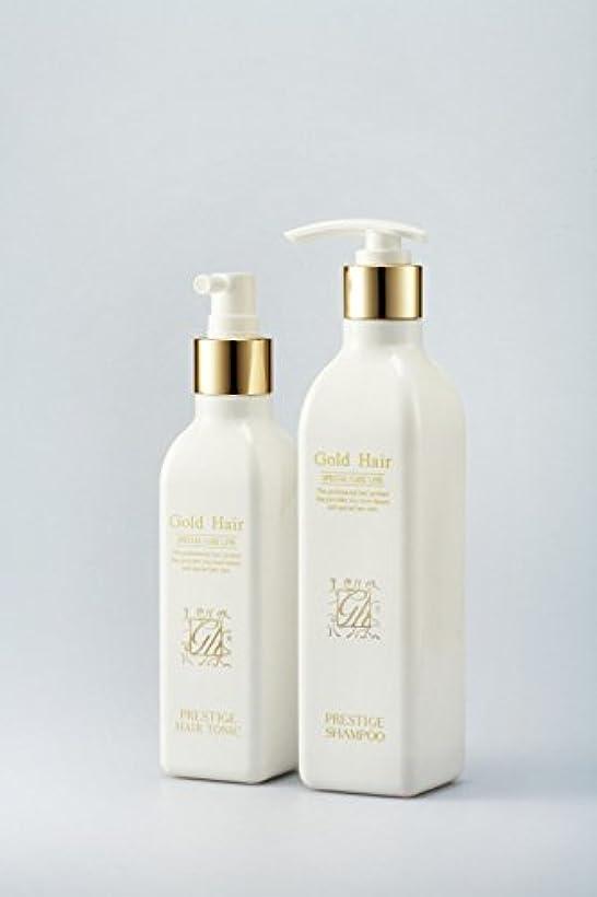 リッチはい民兵ゴールドヘア育毛シャンプー&トニック 漢方シャンプー /Herbal Hair Loss Fast Regrowth Gold Hair Loss Shampoox1ea & Gold Hair Oriental Herbal...