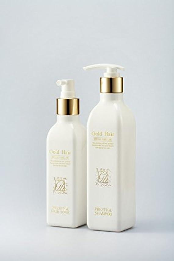 偏差電極本物ゴールドヘア育毛シャンプー&トニック 漢方シャンプー /Herbal Hair Loss Fast Regrowth Gold Hair Loss Shampoox1ea & Gold Hair Oriental Herbal...