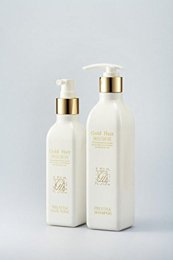 メニュー懐疑論テレマコスゴールドヘア育毛シャンプー&トニック 漢方シャンプー /Herbal Hair Loss Fast Regrowth Gold Hair Loss Shampoox1ea & Gold Hair Oriental Herbal...