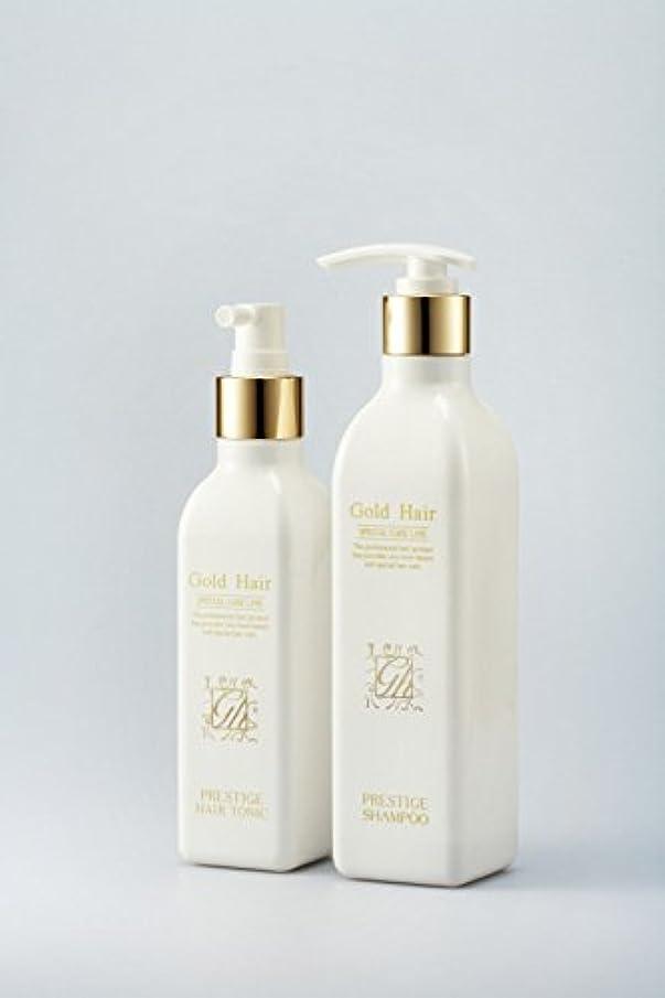 スチール数学者素晴らしいですゴールドヘア育毛シャンプー&トニック 漢方シャンプー /Herbal Hair Loss Fast Regrowth Gold Hair Loss Shampoox1ea & Gold Hair Oriental Herbal...