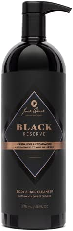 Jack Black Black Reserve Body & Hair Cleanser with Cardamom & C