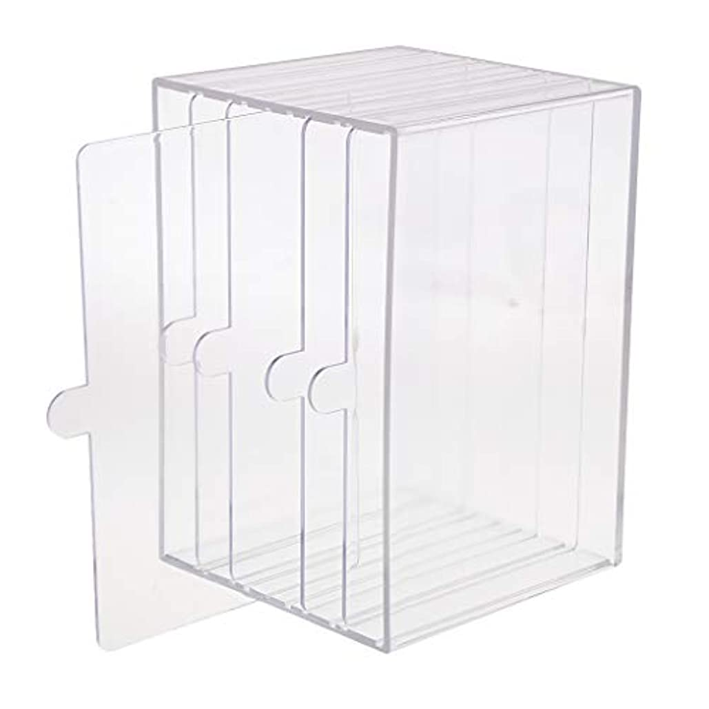chiwanji ネイルチップ ディスプレイ 収納ボックス 小物入り 収納容器 ディスプレイケース
