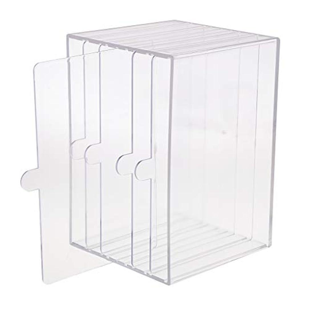 地域良心脱走chiwanji ネイルチップ ディスプレイ 収納ボックス 小物入り 収納容器 ディスプレイケース