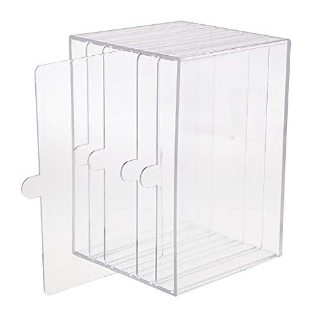 怠な平均ミリメートルchiwanji ネイルチップ ディスプレイ 収納ボックス 小物入り 収納容器 ディスプレイケース