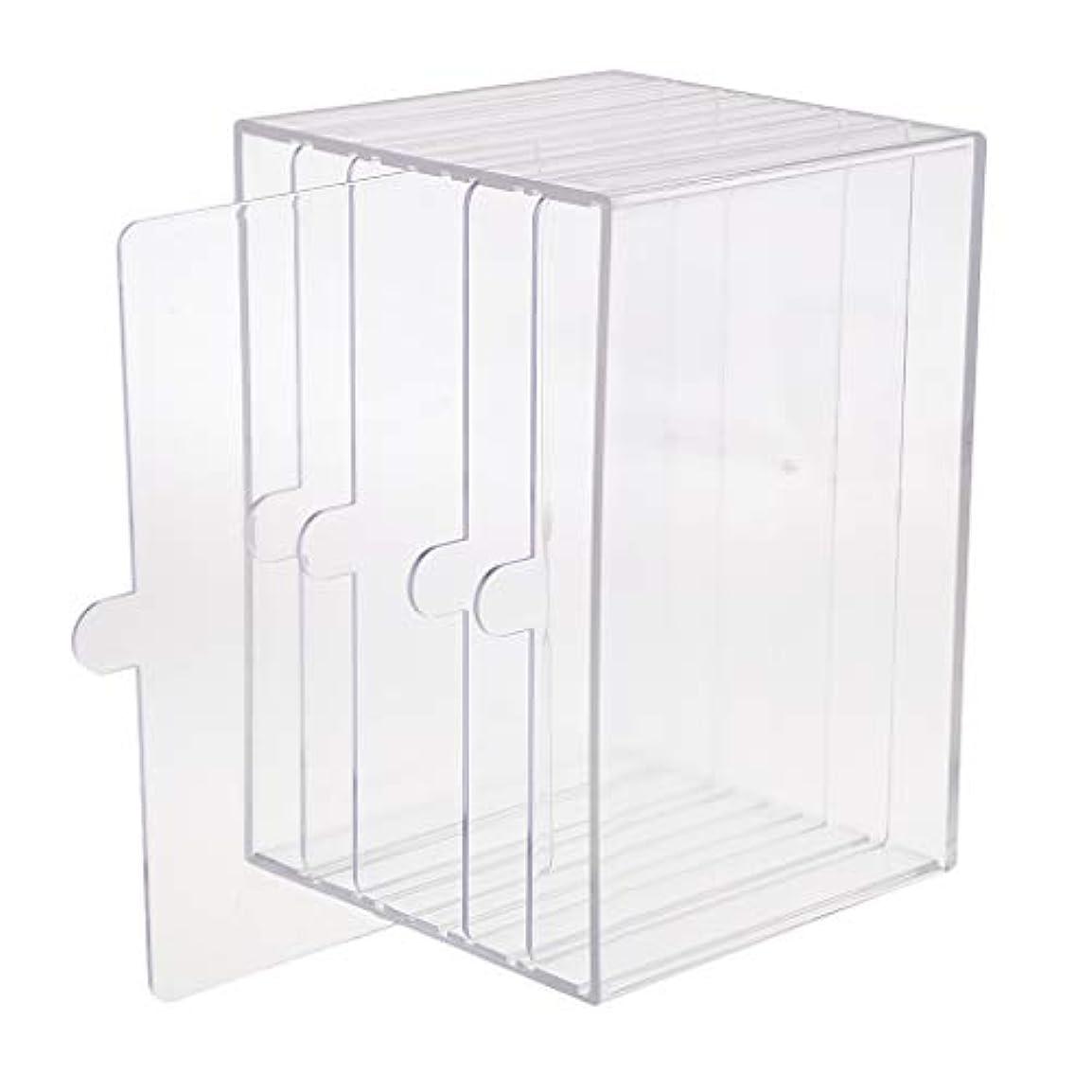 ジャニス謙虚なシーンchiwanji ネイルチップ ディスプレイ 収納ボックス 小物入り 収納容器 ディスプレイケース