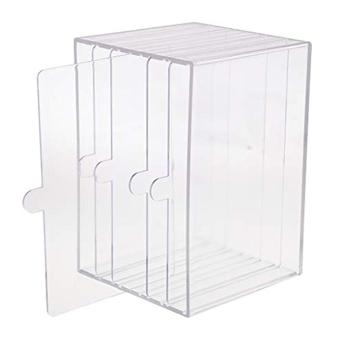 回るスクラップスクラップブックchiwanji ネイルチップ ディスプレイ 収納ボックス 小物入り 収納容器 ディスプレイケース