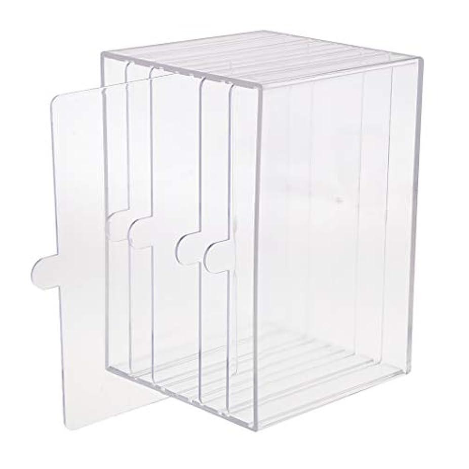 ハウス独創的機知に富んだchiwanji ネイルチップ ディスプレイ 収納ボックス 小物入り 収納容器 ディスプレイケース