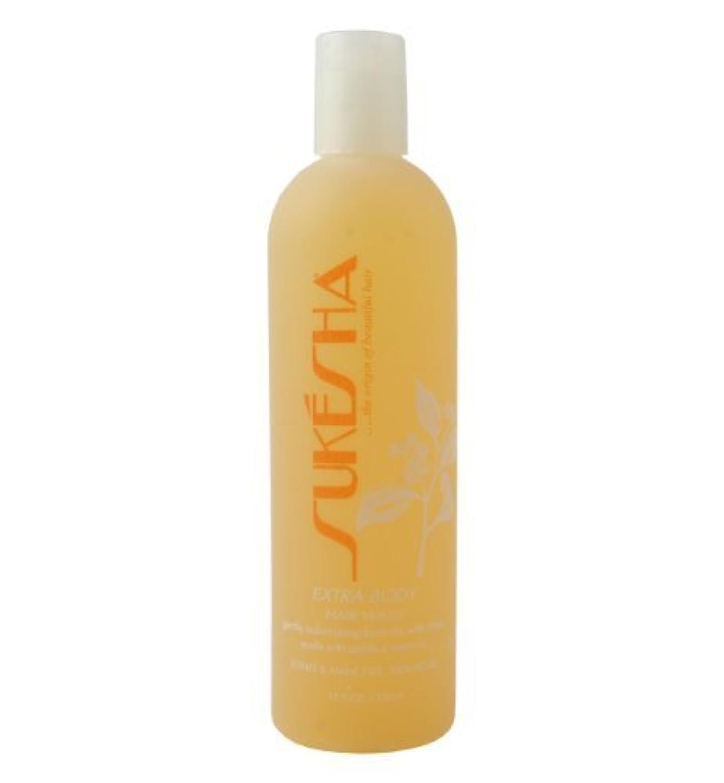 進化圧縮する規定Sukesha Extra Body Hair Wash 12 oz by Sukesha [並行輸入品]