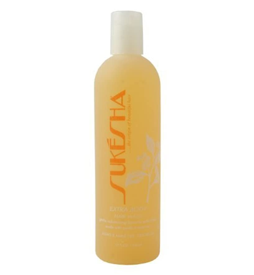 キャップドループ思慮のないSukesha Extra Body Hair Wash 12 oz by Sukesha [並行輸入品]