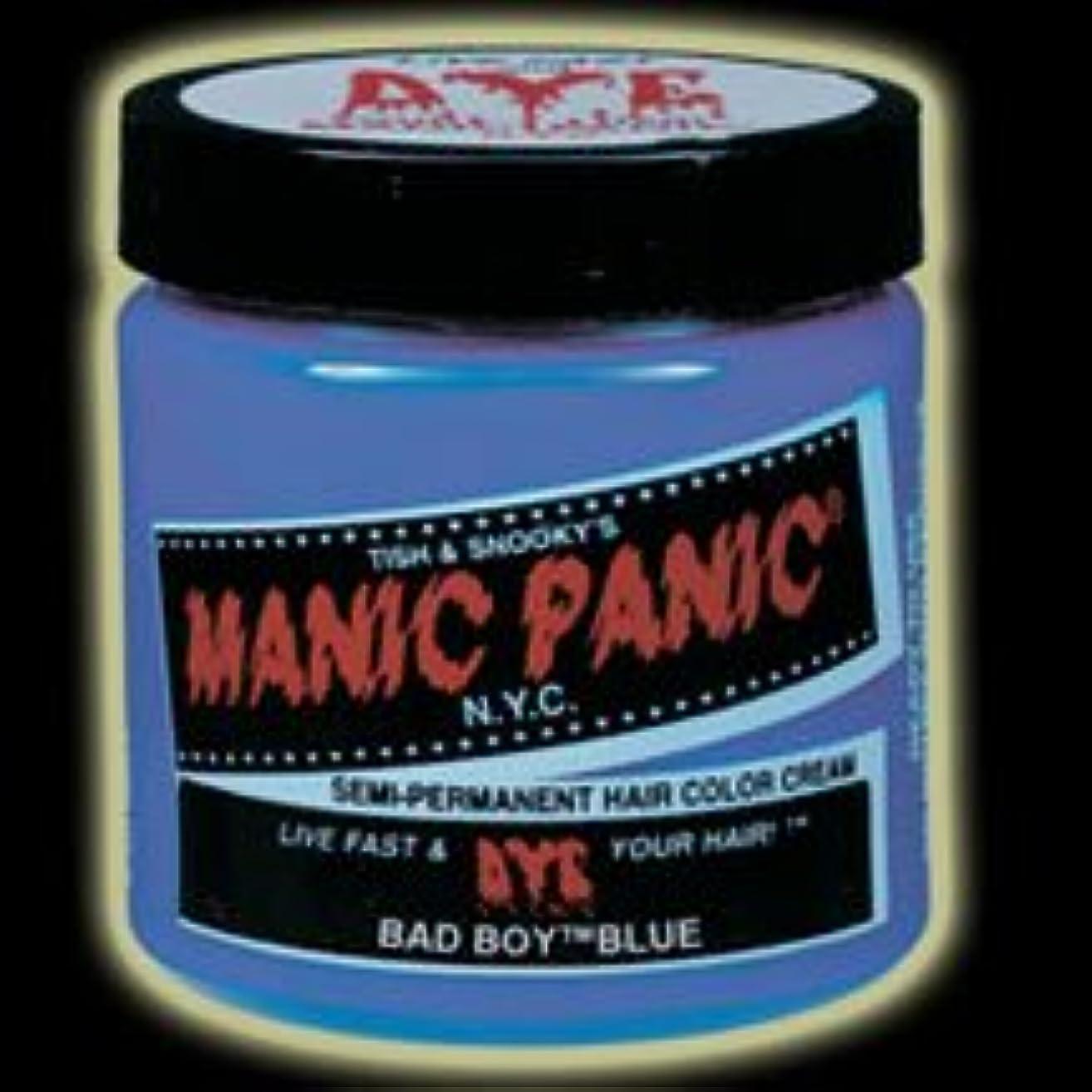 名門妥協ぴかぴかMANIC PANICマニックパニック:Bad Boy Blue (バッド?ボーイ?ブルー)