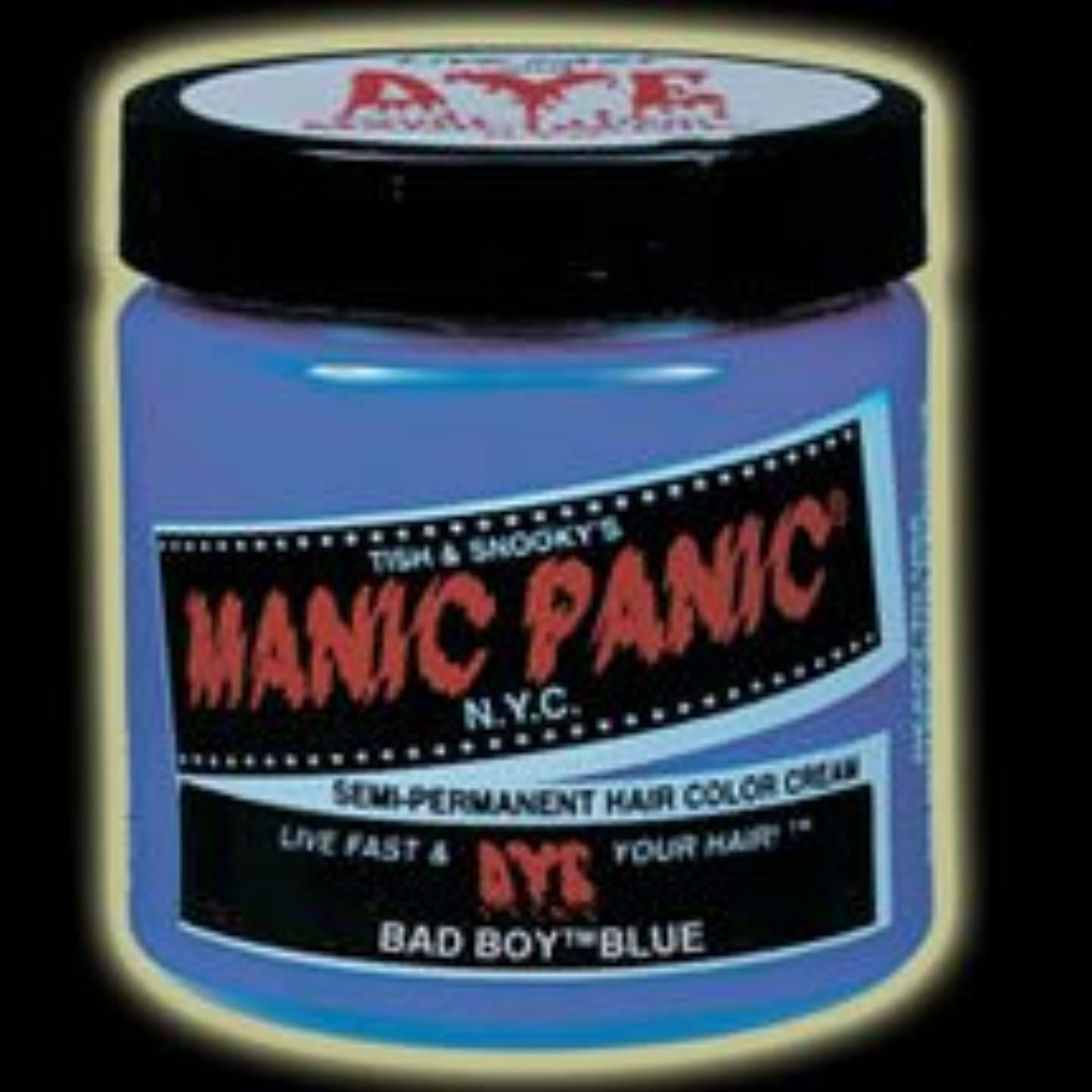 屈辱する同様にこのMANIC PANICマニックパニック:Bad Boy Blue (バッド?ボーイ?ブルー)