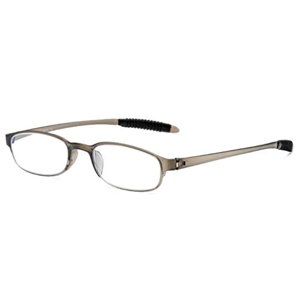 LCSHAN ポータブル老眼鏡ユニセックスアンチブルーライトウルトラライトHD快適なファッション+2.0 (Color : 250 degrees)