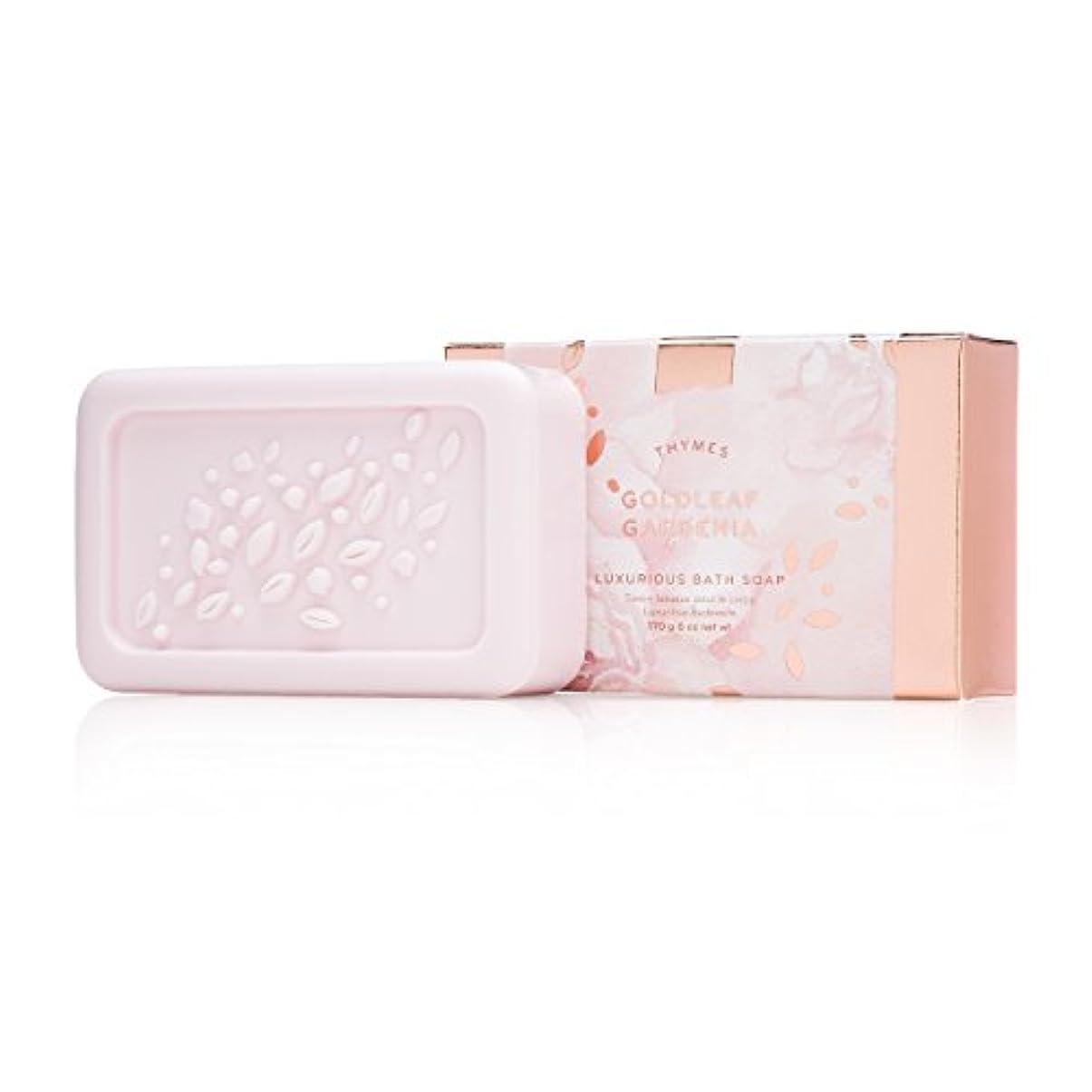 フラフープ階段疾患タイムズ Goldleaf Gardenia Luxurious Bath Soap 170g/6oz並行輸入品