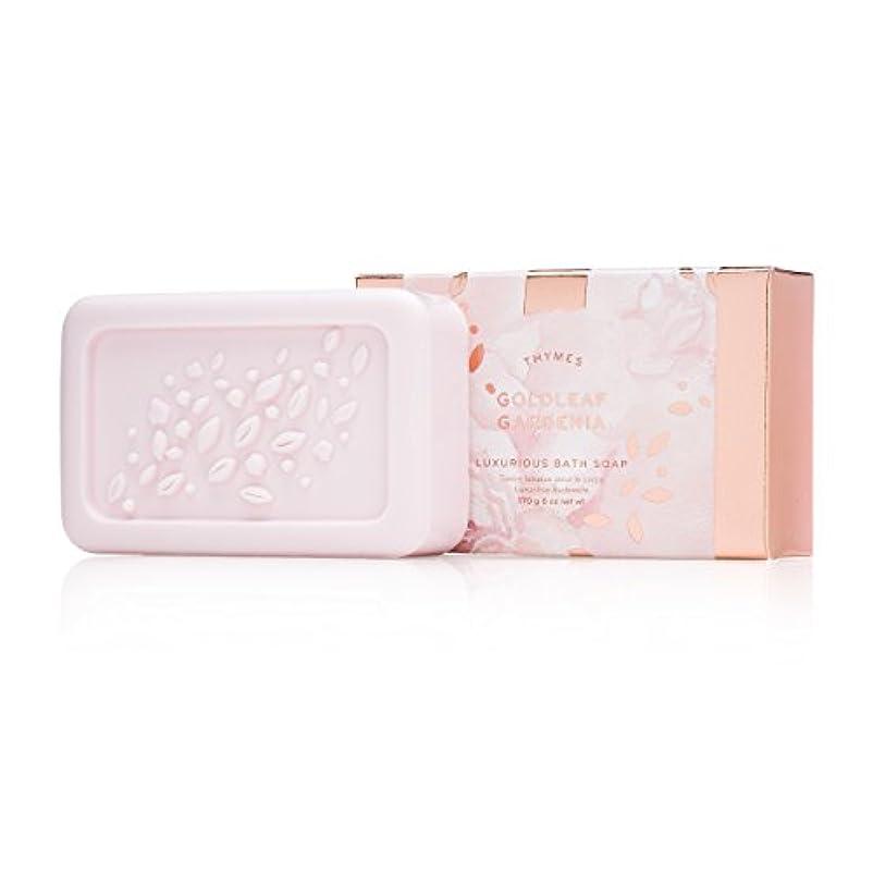 独立した不良品独裁タイムズ Goldleaf Gardenia Luxurious Bath Soap 170g/6oz並行輸入品