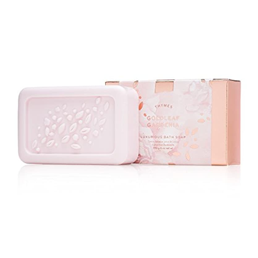確立しますグリース泳ぐタイムズ Goldleaf Gardenia Luxurious Bath Soap 170g/6oz並行輸入品